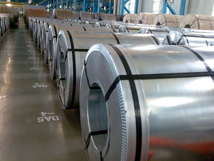 China Hot Dipped Galvanized Sheet Metal Coils / GI Steel Coil Grade DX51D ZINC 40G-180G supplier