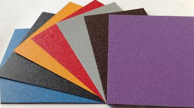 China Pre Painted Color Coated Steel Sheet Zinc 40-180g Wrinkle 600MM - 1250MM Width supplier