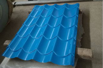 China Building Corrugated Steel Roofing Sheets / Corrugated Sheet Metal Panels Color Customized supplier