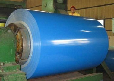 China Color Coated Steel Sheet , Prepainted Galvanized Steel Coil For Sandwich Panel supplier