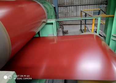 China Colorful Prepainted Steel Coil 0.15mm ~ 1.5mm Thickness For Decoration supplier