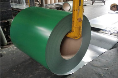 China G550 DX51D Color Coated Steel Coil For Prefabricated House / Roofing supplier