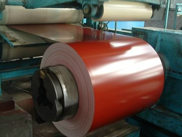 China Z90G 0.35*1041 Color Coated Steel Coil Corrosion Resistance For Roofing supplier