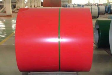 China 1.5mm Color Coated Steel Coil / PPGI Color Coated Sheets AISI ASTM GB JIS Standard supplier