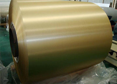China Zinc120 Pre Painted PPGL Steel Coil JISG3312 ASTM G550 DX51D+AZ For Buildings supplier