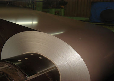 China High Gloss Prepainted Galvalume Steel Coil 55% For Construction GB / KS Standard supplier