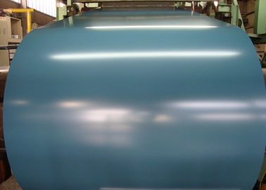China Cobalt Blue Hot Dipped Galvanized Steel Sheet In Coils 55% RAL Colors AZ supplier