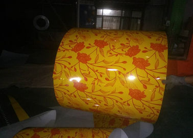China Durable PPGL Steel Coil DX51D+AZ High Gloss Film 600mm-1250mm Width supplier