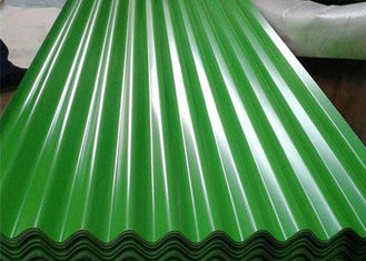 China Green Moss Green Corrugated Steel Sheets SGCC For Roofing PPGI PPGL supplier