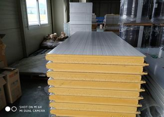 China Professional Foam Sandwich Roof Panels Color Customized For Construction supplier