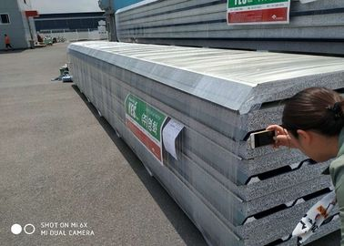 China Durable Foam Roof Insulation Panels JIS G3312 / ASTM A653M 600mm - 1250mm Width supplier