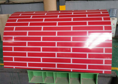 China Color Coated PPGI Steel Coil / PPGL Steel Coil Width 914mm-1250mm For Roofing supplier