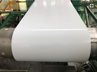 China Durable Pre Painted Galvanized Coils Width 1200mm Thickness 0.18mm Corrosion Resistant supplier
