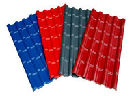 Red Grey Blue Pre Painted Corrugated Sheet DX51D SGCC Slip Resistance For Roofing