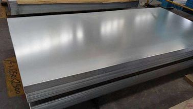 Zinc Customized Hot Dip Galvanized Steel Sheet For Decoration / Construction