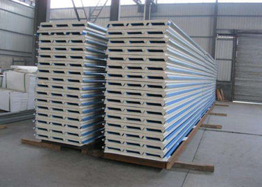 Sandwich Panel Corrugated Steel Sheets Color Customized 40 180g Zinc