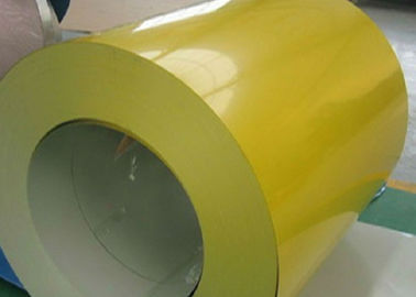 Yellow White Blue PPGI Steel Coil / Pre Coated Metal Sheets Free Sample Offered